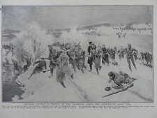 1915 AUSTRIANS PURSUED BY RUSSIAN CAVALRY COSSACKS UZSOK PASS GALICIA WWI WW1