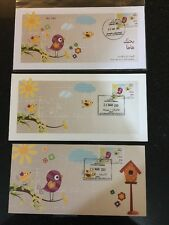 Lebanon Liban Post High Value FDC Mothers Day 2013 Full Set Of 3