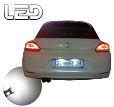 SCIROCCO 2 Ampoules LED Blanc Plaque immatriculation Anti erreur ODB Canbus