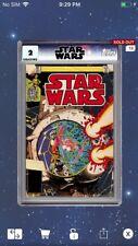 Topps Star Wars Digital Card Trader Grade 2 Classic Comic Book #61 Insert Award