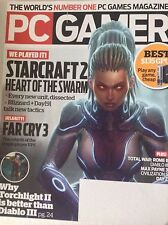 Pc Gamer Magazine Starcraft  2 Far Cry 3 September 2012 082217nonrh
