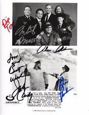 *CANADIAN BACON CAST X5 SIGNED PHOTO AUTHENTIC AUTOGRAPHS JOHN CANDY ALAN ALDA*