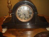 Seth Thomas Adamantine Tambour mantle clock working