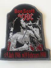 AC/DC ** Bon Scott (1) **  Patch Aufnäher Badge Kutte Metal Rar