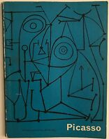 1960 PICASSO Paintings Exhibition Catalog TATE GALLERY London GB Arts Council