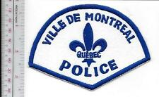 Montreal Police Department City of Montreal Service de Police Retired Patch