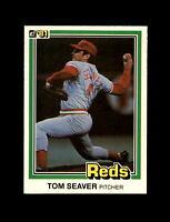 1981 Donruss Baseball #425 Tom Seaver (Reds) NM-MT