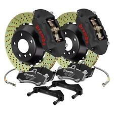 For Ford Focus 13-18 GT-S Series Cross Drilled 2-Piece Rotor Front Big Brake Kit