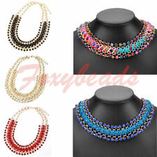 Rhinestone Alloy Statement 18 Fashion Necklaces & Pendants