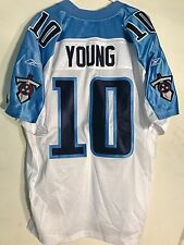 Reebok Authentic NFL Jersey Titans Vince Young White sz 50