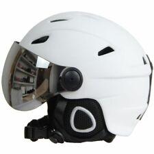 Ski Helmet Goggles Visor Half-covered Winter Snow Sled Sledge Scooter