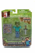 Minecraft Zombie Game Figure Accessories Hostile Mobs Figures Figure Collect OVP New