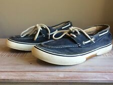 SPERRY Top-Sider Men's Blue 2-Eye Boat Shoes Size 8.5 M