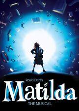 Matilda Théâtre Musical A4 260GSM Poster Print