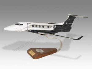 Embraer EMB-505 Phenom 300 Solid Kiln Dried Mahogany Wood Airplane Desktop Model