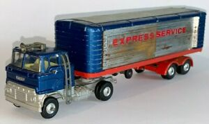 Corgi, #1137, FORD ARTICULATED EXPRESS SERVICE TRUCK (COE Semi Tractor Trailer)