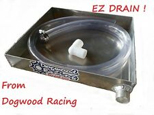 EZ Drain Oil Pan Drag Bike / ATV / Mower