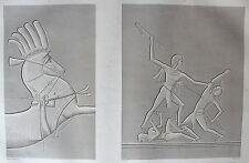 THEBES . KARNAK. (pl. 39, A. vol. III).Harnachement ...   DESCRIPTION EGYPTE