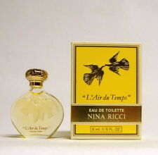 NINA RICCI L'AIR DU TEMPS EAU DE TOILETTE 6 ML. 1/5 FL.OZ. MINI PERFUME WITH BOX