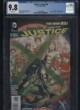 Justice League #8 CGC 9.8 Jim Lee cover 2012 of America