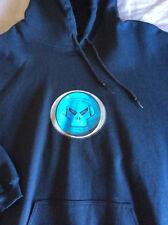 New Unworn Metalheadz Logo Sweater Hoody Goldie Metalheads Drum & Bass DNB shirt