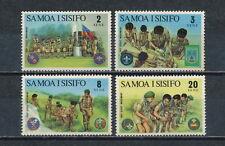 Samoa #383-6 MNH, Scouts, 1972