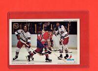 1971-72 Canadiens Frank  Mahovlich  Pro Star NHLPA Postcard Nrmnt-Mt