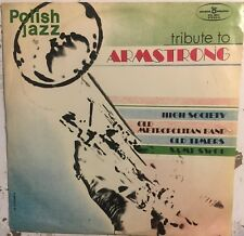 POLISH JAZZ Tribute To Louis Armstrong Vol. 29 VG+ LP Old Timers Sami Swoi 1972
