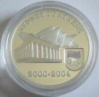 Australien 5 Dollars 2004 Olympia Athen Handover Silber