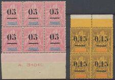 MADAGASCAR N°48 bloc de 6 et N°54 Bloc de 4 N** R497
