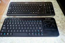 2 Logitech K400R & K360 Wireless Keyboard No Unifying Receiver Excellent Tested