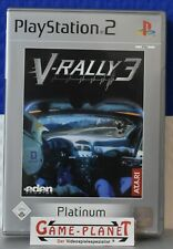 V Rally 3 Playstation 2 NEU WERTIG in OVP  Autorennen Studios 1-4 Spieler Player