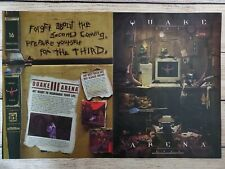 Quake III 3 Arena PC Game 1999 Sega Dreamcast Vintage Promo Ad Art Print Poster