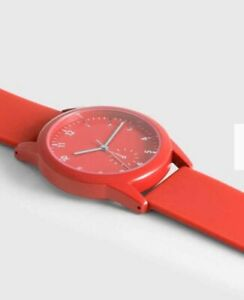 AVON Phoebe Red Silicone Watch. New & Boxed (RED WATCH ONLY AVAILABLE)