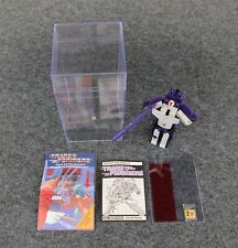 G1 TRANSFORMERS ASTROTRAIN **COMPLETE w/EXTRAS **HASBRO**1985**NICE**