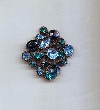 Fabulous Aqua Teal maltese pin