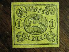 Braunschweig Mi.-Nr. 11 ungebr. ohne Gummi -(A)