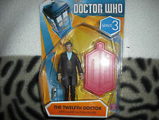 Doctor who   wave 3,   regenerated 12th doctor peter capaldi  3.75 inch figure