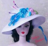 FITS Barbie Vintage Silkstone and Reproduction Doll HANDMADE Clothes Dress Hat