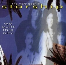 STARSHIP: WE BUILT THIS CITY THE VERY BEST OF 17 TRACK CD GREATEST HITS / NEW