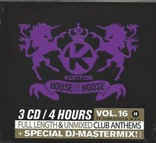 Kontor-House Of House volume 16 * NEW 3cd's 2012 * NOUVEAU