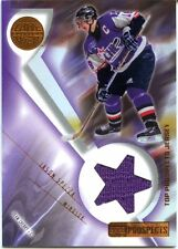 2001-02 UD Prospects Game-Used Jason Spezza Jersey Windsor Spitfires Stars
