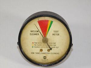 Vtg USG Dial Gauge Vacuum Cleaner Test Meter Tank Canister Cleaners Industrial