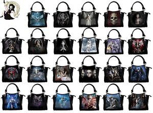 ANNE STOKES 3D BAG handbag wolf PVC gothic owl dragon CARRY shoulder GOTH HAND