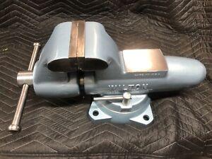 "Wilton Bullet Vise 500 - 5"" Jaws, Complete Restoration, 12-88 Date, Excellent"