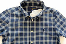 Short Sleeve Checked Casual Shirts (2-16 Years) for Boys