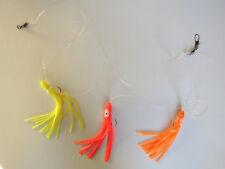 pêche en mer, bas de ligne octopus pour lancer et traîne