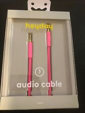 Heyday Audio Cable 3 Ft. Pink Pizzazz