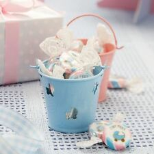 TINY FEET FAVOUR PAILS BABY SHOWER PARTY SUPPLIES BOY GIRL TABLEWARE DECORATION