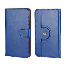 Pu Leather Smarthphone Case For GooPhone i5S - Blue 1